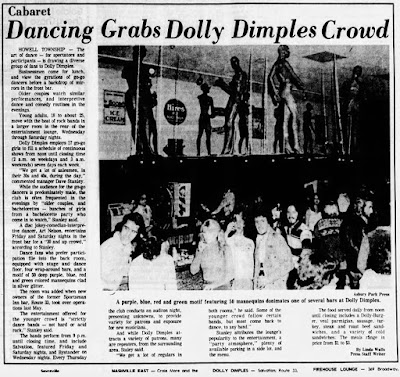 Dolly Dimples club in Howell, New Jersey