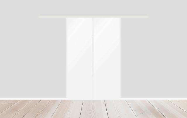 makuuhuoneen lasiovet