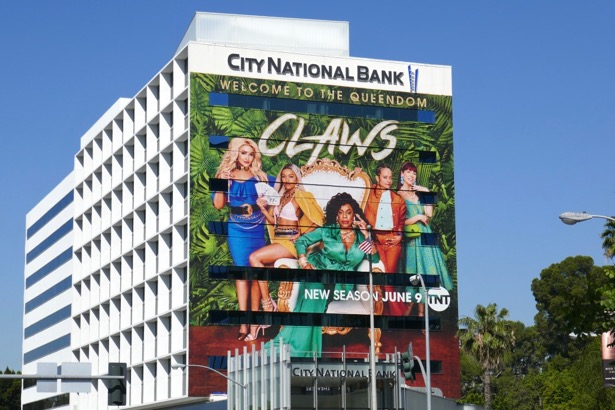 Giant Claws season 3 billboard