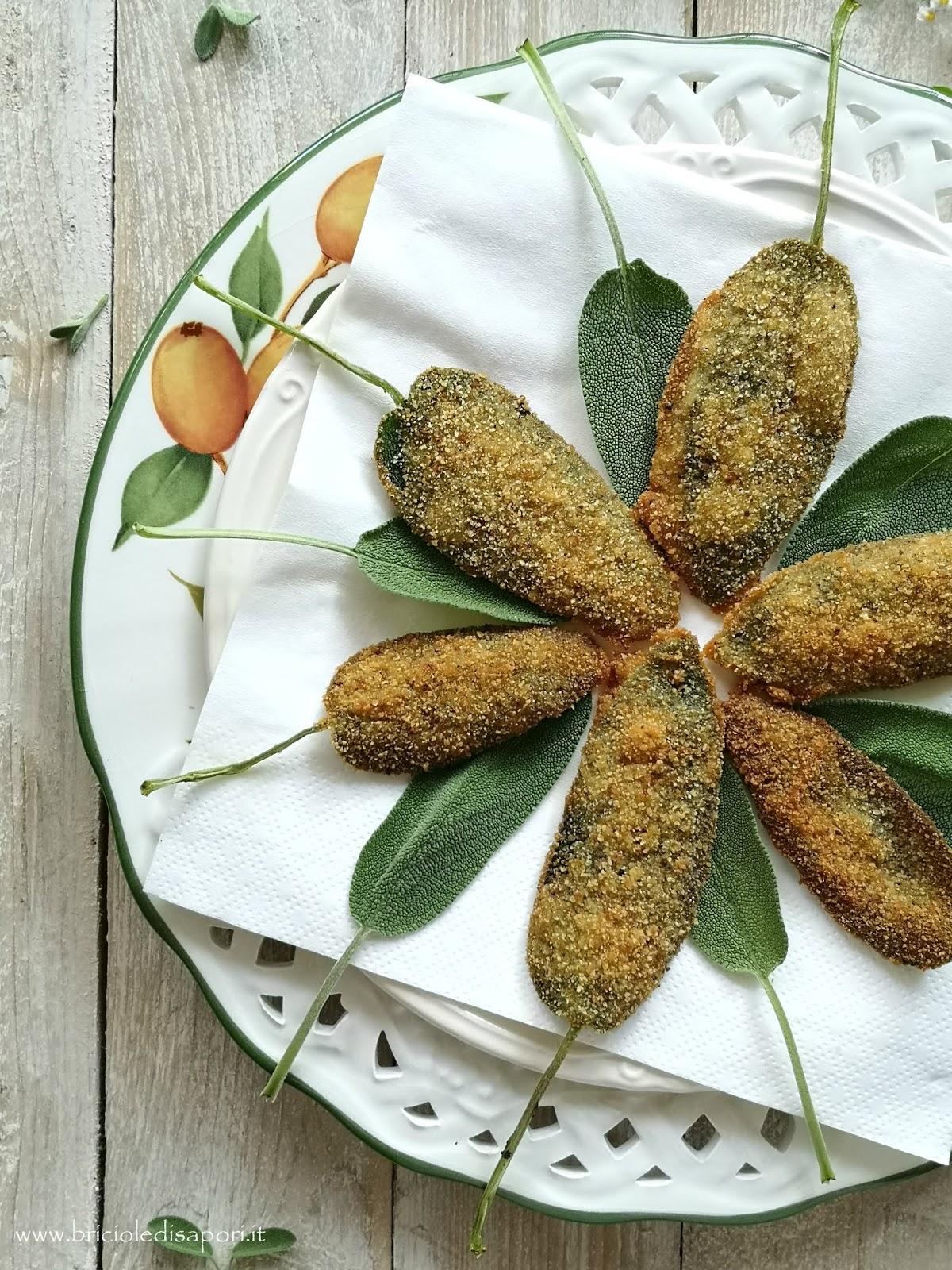 miglior ricetta della salvia impanata e fritta