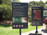 Welcome to the Royal Botanic Gardens! - Sydney, Australia