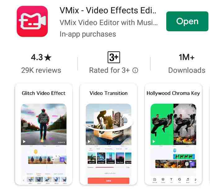 VMix Video Editor