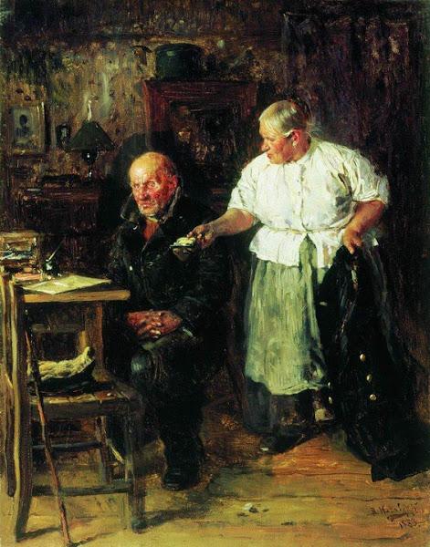 Маковский Владимир Егорович - Выговор. 1883