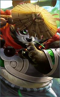 Akai Panda Warrior Heroes Tank of Skins V5