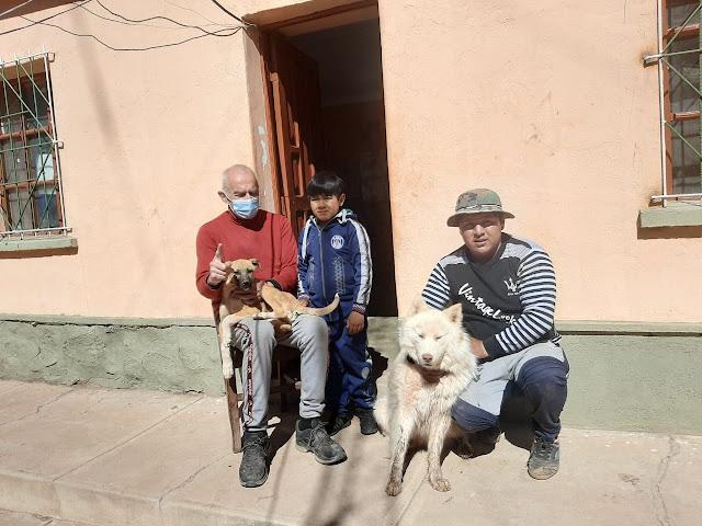 ich bin vor die Hunde gekommen Tobias mit seinem Freund Choco