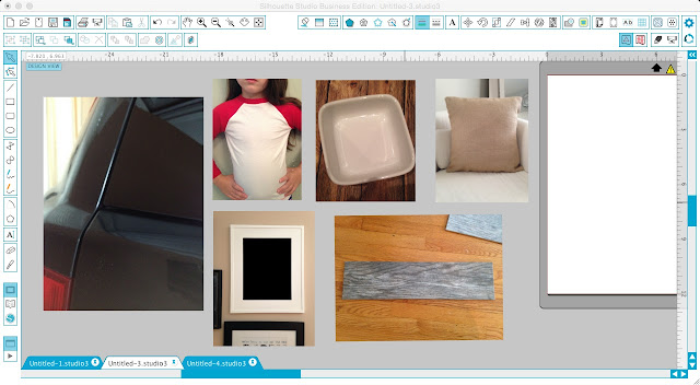 Silhouette Studio, Silhouette tutorial, Silhouette Cameo, mock-ups, mock ups