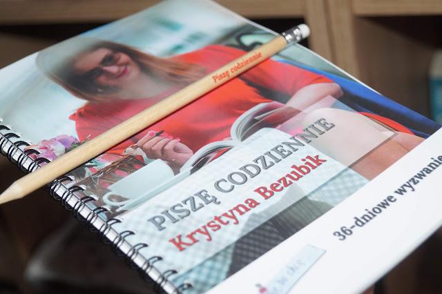 """""""Piszę codziennie. 36-dniowe wyzwanie"""" Krystyna Bezubik"""
