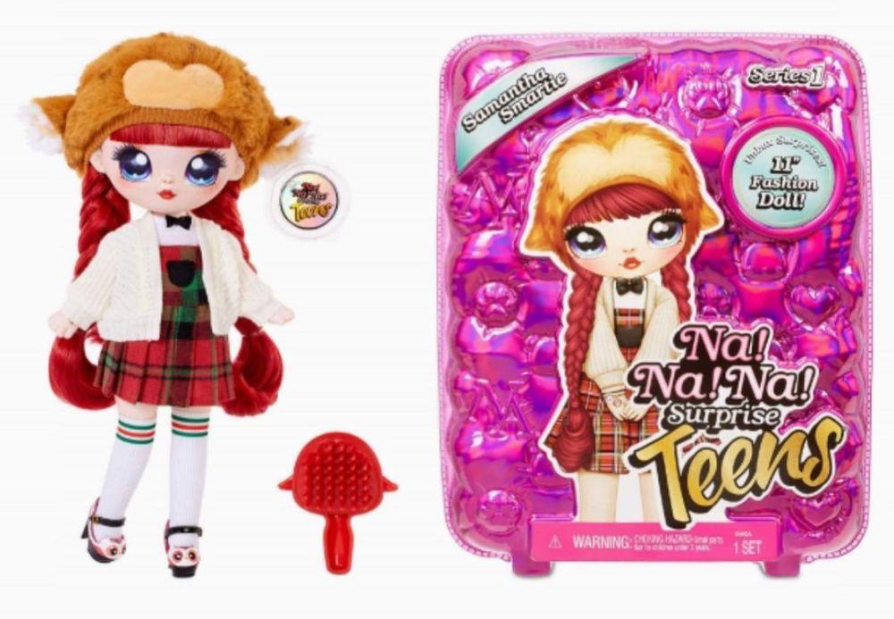 Большая мягкая кукла Samantha Smartie NaNaNa Surprise Teens