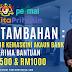 GKP Tambahan : Hari Terakhir Untuk Kemaskini Akaun Bank - Terima Bantuan RM500 & RM1000