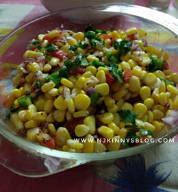 Quick and Easy To Make Healthy Corn Salad Recipe-Njkinny's Blog
