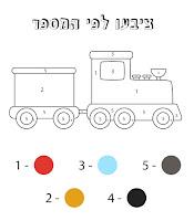 צבע לפי מספרים