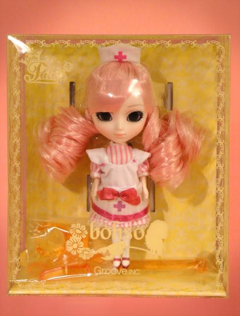 boneca enfermeira Pullip Bohson (rosa)