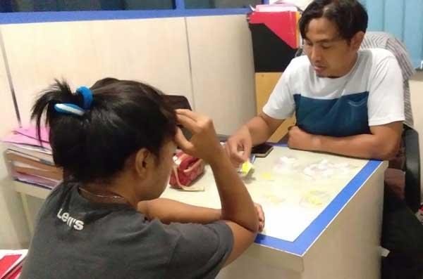 polisi tangkap warga sliyeg penjual obat terlarang