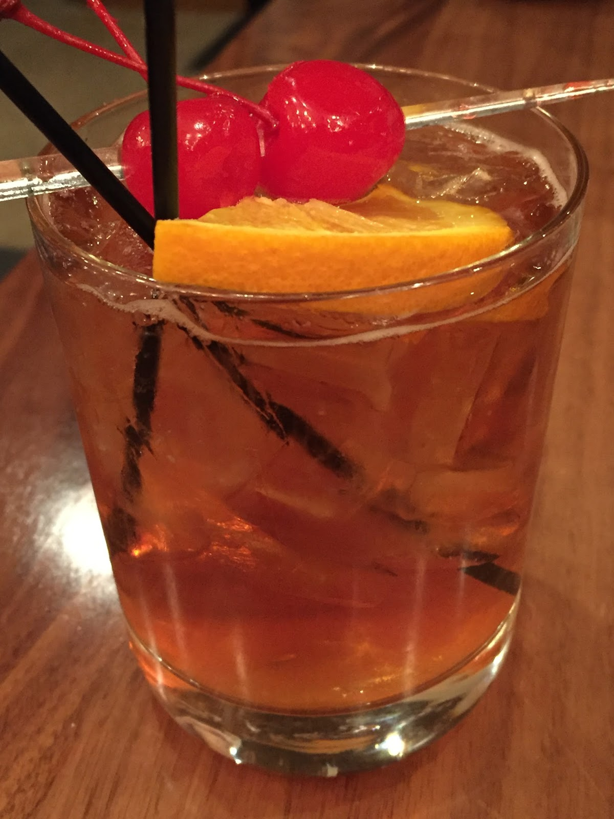 Brandy Old Fashioned Drink