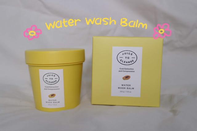 Water Wash Balm Dari Juice to Cleanse