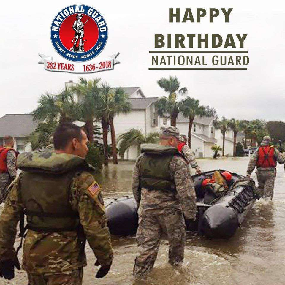 U.S. National Guard Birthday Wishes Unique Image
