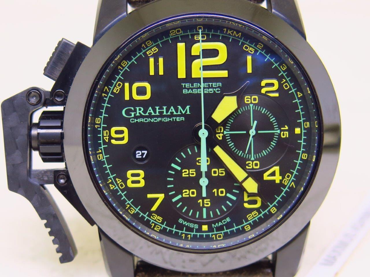 GRAHAM CHRONOFIGHTER 2CCAU BO9A - AUTOMATIC - WATCHMAKER SINCE 1695