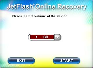 Transcend JetFlash OnLineRecovery