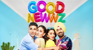 Good Newwz Movie 2019 Full HD download, Tamilrockers, 9xmovies, Tamilmv, Hindilinks4u, FilmyHit Bollywood movie