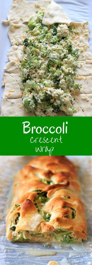 Broccoli crescent wrap #broccoli #crescent #wraps #veggies #vegetarian #vegetarianrecipes