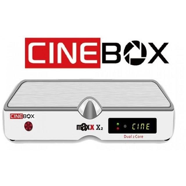 Cinebox Fantasia Maxx X2 ACM Atualização - 31/05/2021