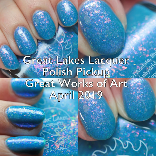 Great Lakes Lacquer Polish Pickup Great Works of Art April 2019