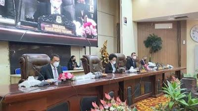 DPRD Manado Rapat Paripurna Penetapan Wali Kota dan Wakil Wali Kota Terpilih