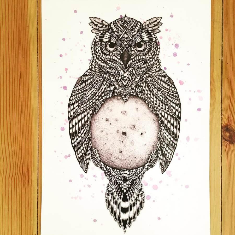 12-Owl-Zentangle-Stine-Lee-www-designstack-co