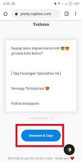 Cara Memberi Jarak Di Caption Instagram