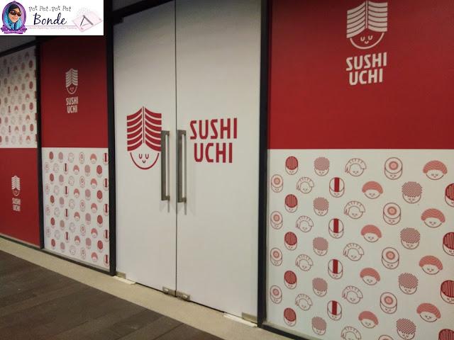 SUSHI  UCHI, SUSHI SEDAP, PEMINAT TEGAR SUSHI, HANTU SUSHI,