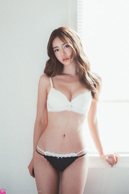 Jin Hee - Lingerie Set - very cute asian girl - girlcute4u.blogspot.com (1)