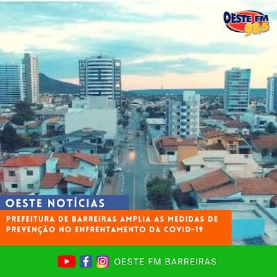 Prefeitura de Barreiras publica novo Decreto na Cidade