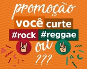 Promoção Ticket 360 Você Curte Rock ou Reggae Show Com Amigos