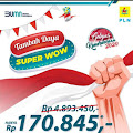 "PLN Tembilahan Lakukan Promo ""Tambah Daya Super Wow"""