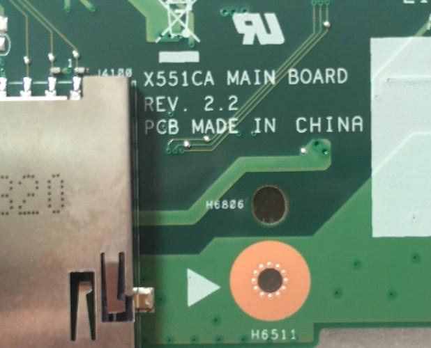 X551CA MAIN BOARD REV 2.2 Bios Asus