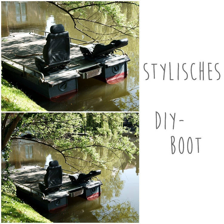 stylisches selbstgebautes Boot in Brügge { by it's me! }