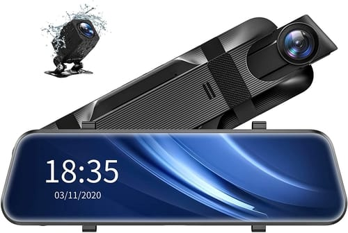 ViviLink VX510 2.5K Car Mirror Dash Cam Voice Control