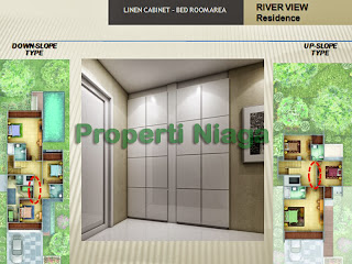 Properti-Niaga-Bed-Room-Area-River-View-Residence-Sentul-City