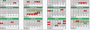 Kalender Pendidikan 2020-2021 untuk RA/Madrasah Sesuai SK Dirjen Pendis No 2491 Tahun 2020