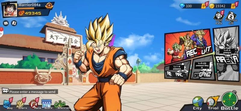 Super Fighters The Legend of Shenron Apk Download
