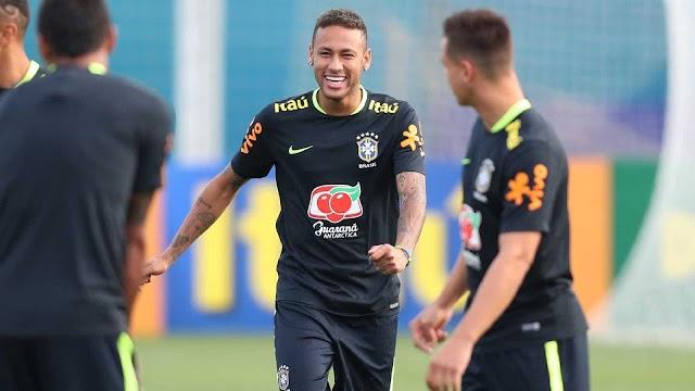 A um ano da Copa do Mundo, Neymar tem maior descanso da carreira