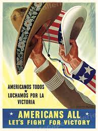 Poster celebrating Mexico's entry into the war on 22 May 1942 worldwartwo.filminspector.com
