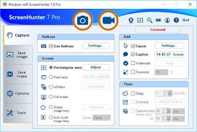 تحميل برنامج تصوير الشاشة ScreenHunter 2020 للكمبيوتر