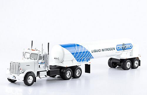 Freightliner FL C 120 64 T 1:43 cryoro, camiones 1:43, camiones americanos 1:43, coleccion camiones americanos 1:43, camiones americanos 1:43 altaya españa