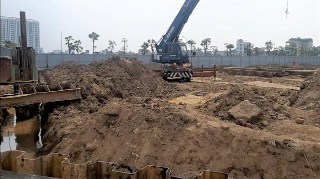 Tiến độ dự án chung cư Sunshine Green Iconic Phúc Đồng Long Biên