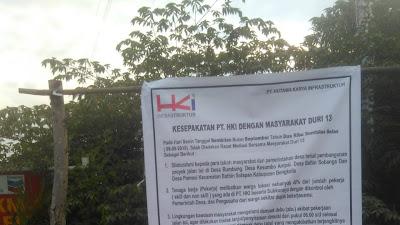 Pihak HKI Seksion V Sangat Miris Dengan Hal Ganti Rugi Retak Rumah Warga Dan Kesepakatan Dengan Warga Duri 13.