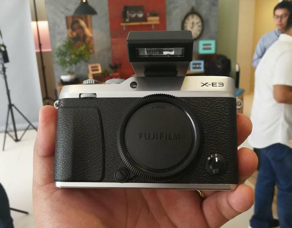 Fujifilm X-E3 Hands-on; Gain and Loss