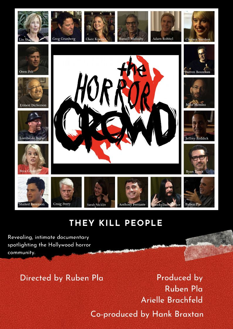 the horror crowd poster