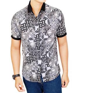 model baju batik pria yang unik