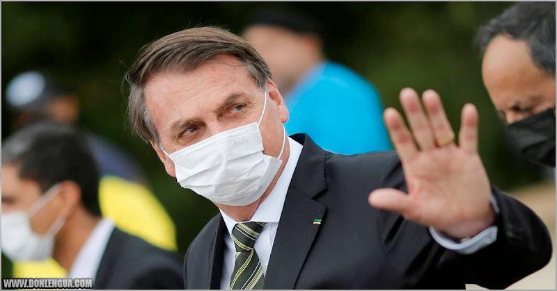Bolsonaro asegura que vivir con Coronavirus es igual que vivir en Venezuela